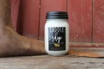 Milkhouse Candles SADDLE SHOP Mason Jar