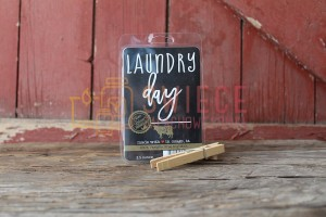 Milkhouse Candles LAUNDRY DAY  Farmhouse Wosk