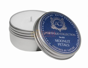 MOONLIT PETALS ~ Soy Travel Tin Candle