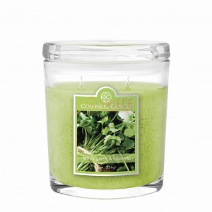 Colonial Candle Medium Jar LEMONGRASS & CILANTRO