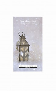 Classic Candle SPARKLING STARS 2 Wick Large Jar
