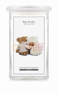 Classic Candle BABY POWDER 2 Wick Large Jar
