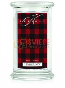 Kringle Candle Lumberjack 2 Wick Classic