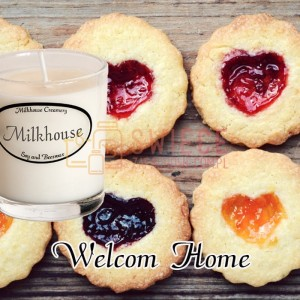 Milkhouse Candles WELCOME HOME Shot