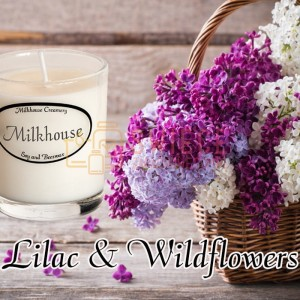 Milkhouse Candles LILAC & WILDFLOWERS Shot