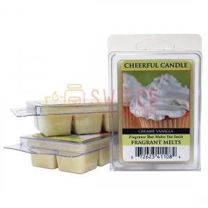 Cheerful Candle Creamy Vanilla Wosk