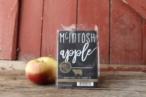 Milkhouse Candles MCINTOSH APPLE Wosk