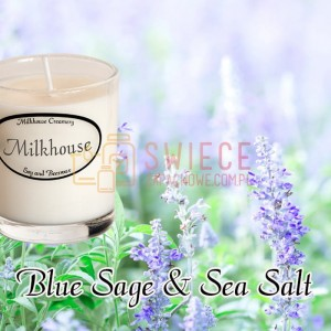 Milkhouse Candles BLUE SAGE & SEA SALT Shot