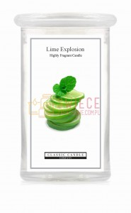 Classic Candle LIME EXPLOSION 2 Wick Large Jar
