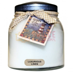 Cheerful Candle LUXURIOUS LINEN Świeca Duża Papa