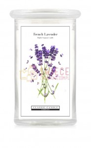 Classic Candle FRENCH LAVENDER 2 Wick Large Jar