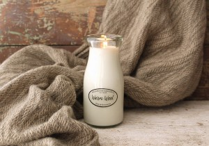 Milkhouse Candles WARM WOOL Milk Bottle