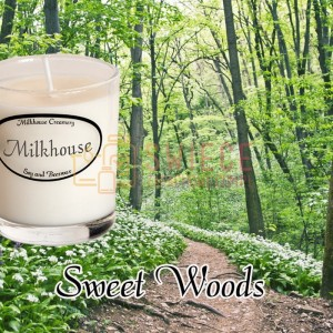 Milkhouse Candles SWEET WOODS Shot