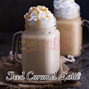 Milkhouse Candles ICED CARAMEL LATTE Wosk