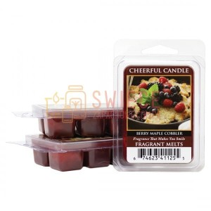 Cheerful Candle BERRY MAPLE COBBLER Wosk