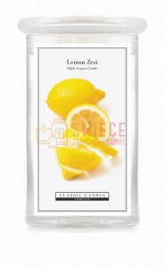 Classic Candle LEMON ZEST 2 Wick Large Jar