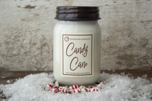 Milkhouse Candles CANDY CANE MERINGUES LE Mason