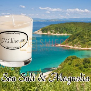Milkhouse Candles SEA SALT & MAGNOLIA Shot
