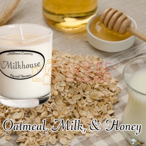 Milkhouse Candles OATMEAL, MILK & HONEY Shot