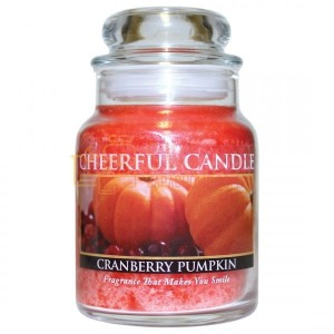 Cheerful Candle Cranberry Pumpkin Świeca Mała