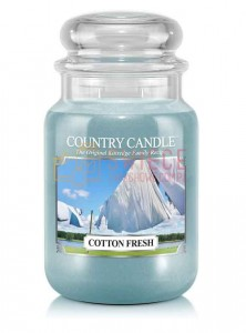 Country Candle COTTON FRESH Świeca Duża