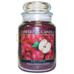 Cheerful Candle Juicy Apple Świeca Duża