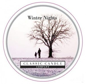Classic Candle WINTER NIGHTS MiniLight