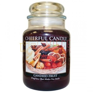 OUTLET Cheerful Candle Candied Fruit Świeca Duża