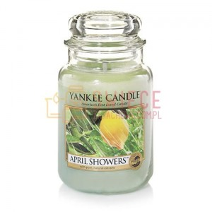 OUTLET Yankee Candle April Showers Słoik Duży