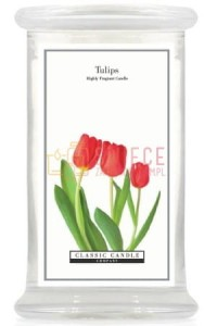 Classic Candle TULIPS  Large Jar