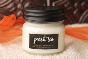 Milkhouse Candles PEACH TEA Mini Mason