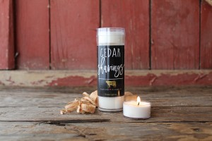 Milkhouse Candles CEDAR SHAVINGS Tea Lights