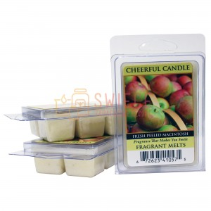 OUTLET Cheerful Candle Fresh Peeled Macintosh Wosk