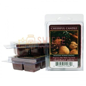 OUTLET Cheerful Candle Holiday Homecoming Wosk