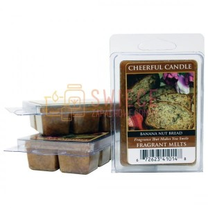 OUTLET Cheerful Candle Banana Nut Bread Wosk