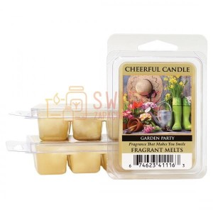 OUTLET Cheerful Candle GARDEN PARTY Wosk