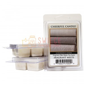 OUTLET Cheerful Candle Luxurious Linen  Wosk