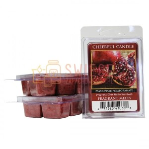 OUTLET Cheerful Candle Passionate Pomegranate Wosk