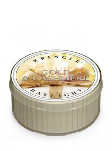 Kringle Candle Gold & Cashmere Coloured DayLights
