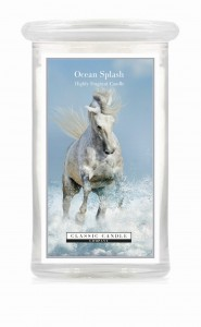 Classic Candle OCEAN SPLASH 2 Wick Large Jar