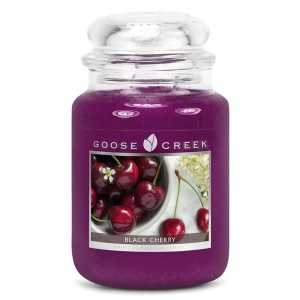 Goose Creek BLACK CHERRY Duża Świeca