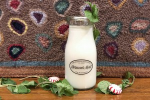 Milkhouse Candles MOROCCAN MINT Milk Bottle