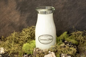 Milkhouse Candles SUMMER STORM Milk Bottle