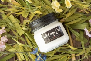 Milkhouse Candles MORNING DEW Mini Mason Jar