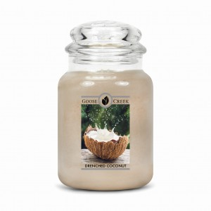 Goose Creek Candle DRENCHED COCONUT Świeca Duża