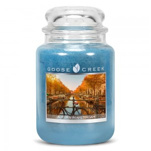 Goose Creek Candle AUTUMN IN AMSTERDAM Świeca Duża
