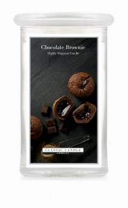 Classic Candle CHOCOLATE BROWNIE 2 Wick Large Jar