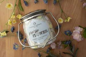 Milkhouse Candles PRAIRIE FLOWER Wrapped Butter