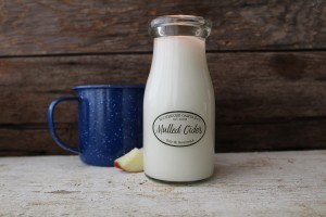 Milkhouse Candles MULLED CIDER Milk Bottle