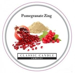 Classic Candle POMEGRANATE ZING MiniLight